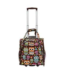 """The Owl Rockland Unisex 15"""" Melrose Wheeled Underseat Carry"""