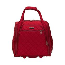 """The Red Rockland Unisex 15"""" Melrose Wheeled Underseat Carry"""