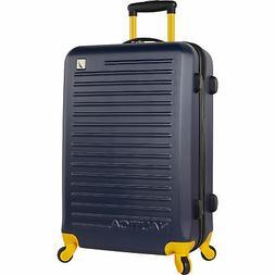 "Nautica Tide Beach Hardside Spinner 21"" Suitcase Luggage Nav"