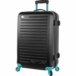 "Nauitca Tide Beach Hardside Spinner 21"" Suitcase Luggage Bla"
