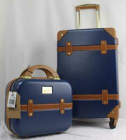CHARIOT TITANIC 2 PC. HARDSIDE SPINNER CARRY ON LUGGAGE SET