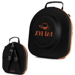 Hat Box Travel Crush Proof Carry On with Luggage Strap and S