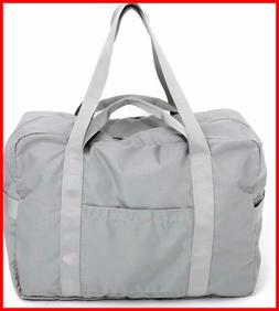 Travel Duffel Bag Foldable Diaper Weekend Checked Luggage To