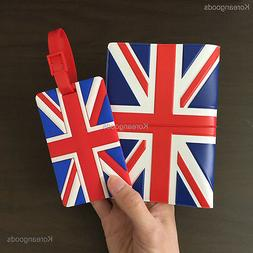 Travel ID Card Passport Holder Ticket Protector Cover Case &