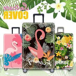 Travel Luggage Cover Protector Digital Printing Suitcase Wat