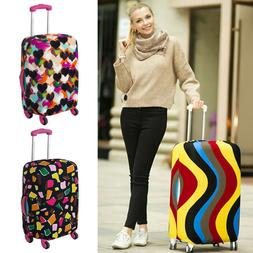 Travel Luggage Cover Protector Elastic Suitcase Dust-Proof S