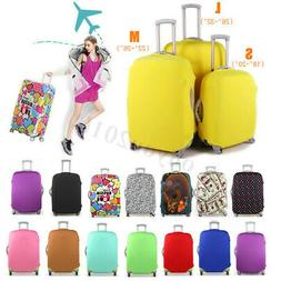 Travel Luggage Cover Protector Elastic Suitcase Dustproof Pu