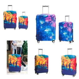 Travel Luggage Suitcase Case Cover Elastic Scratch Dustproof