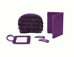 Conair Travel Smart Purple Roses 5-Piece Travel Gift Set TS8