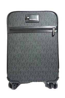 Michael Kors Travel Trolley Carry On Suitcase Black MK Signa