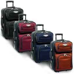 "Traveler's Choice Amsterdam 21"" Carry-on Expandable Rolling"