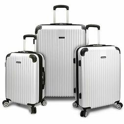 Traveler's Choice Charvi 3pc Expandable Hardside Spinner Lug