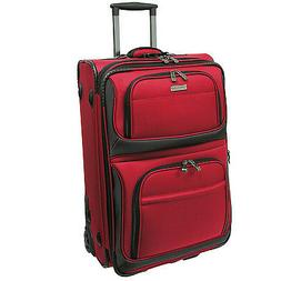 "Traveler's Choice Conventional Red 22"" Rugged Carry-On Rolli"