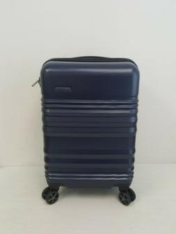 "Traveler's Choice Pomona 21"" Carry-On Spinner Luggage Suitca"