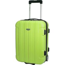 Traveler's Choice Rome 20 in. Hardside Rolling Carry-On Hard