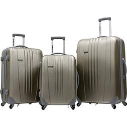 Traveler's Choice Toronto 3-Piece Hardside Lightweight Expan