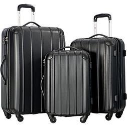 Travelhouse 3 Piece Spinner Luggage Set with TSA Lock