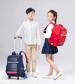 Trolley bag suitcase luggage + backpack school travel bag fo
