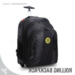 Trolley Luggage Bag Backpack Travel Laptop Roller Wheel Wide