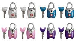 Master Lock TSA-Accepted Luggage Locks Shrouded Shackle 2 Lo