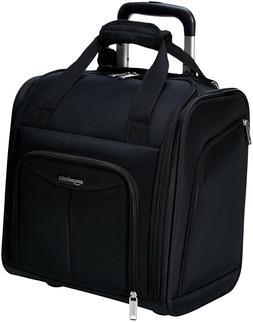 AmazonBasics Underseat Luggage Black