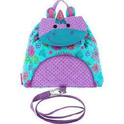 Unicorn Little Buddy Backpack With Safety Harness Detachable
