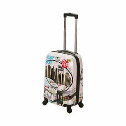 "Rockland Unisex  20"" Polycarbonate Carry On F206"""