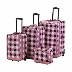 Rockland Unisex  4 Piece Luggage Set F106