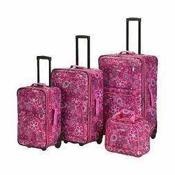 Rockland Luggage 4 Piece Nairobi Luggage Set