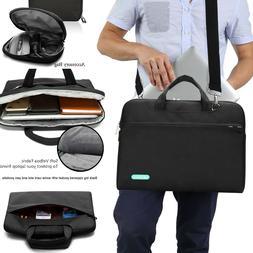 Unisex Portable Laptop Sleeve Case Messenger Bag Shoulder St