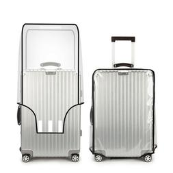 Universal Waterproof Protective Transparent Luggage Suitcase