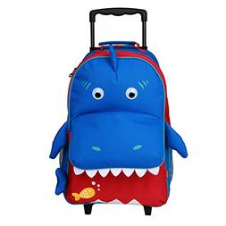 Yodo Upgraded Large Convertible 3-Way Kids Rolling Luggage o