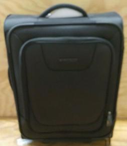 upright spinner expandable softside suitcase luggage