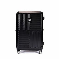 Ful Urban Grid Black 29-inch Expandable Hardside Spinner Sui