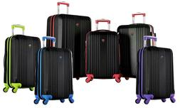 Olympia USA Apache Expandable Hardside Luggage Set with Spin
