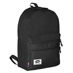 """Olympia USA Princeton 18"""" Backpack in Black"""