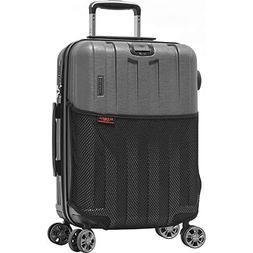 Olympia USA Sidewinder Hardside Spinner Luggage )
