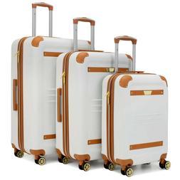 19V69 ITALIA Vintage Expandable Retro Spinner Luggage Set