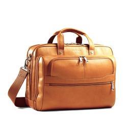 Samsonite Vachetta Leather 2 Pocket Business Case Tan