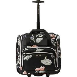 BEBE Valentina Under the Seat Carry-On Rolling Tote Softside