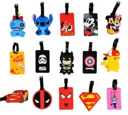 Disney and Various Luggage Tags / ID Holders with Strap ~ Hu