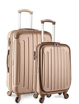 TravelCross Victoria Luggage Lightweight Spinner Set - Champ