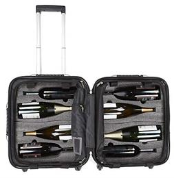 VinGardeValise Petite 03 8 Bottle Wine Travel Suitcase - New