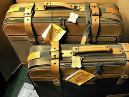 VINT.1970's SKYWAY Luggage 2 Piece Pullman Suitcase SET - 26