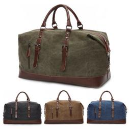 vintage men s leather military canvas travel