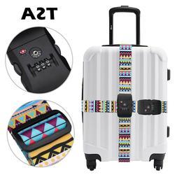 Vintage Retro-Multi-Colour-Premium Designer Luggage Strap TS