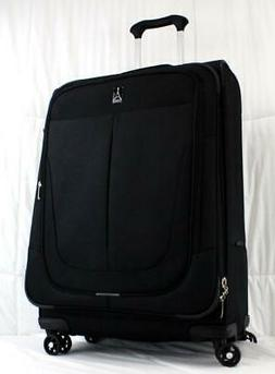 """TRAVELPRO WALKABOUT 4 25"""" LIGHTWEIGHT SPINNER SUITCASE BLACK"""