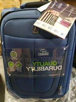 """TRAVELPRO WALKABOUT 4 20"""" LIGHTWEIGHT SPINNER SUITCASE BLUE"""