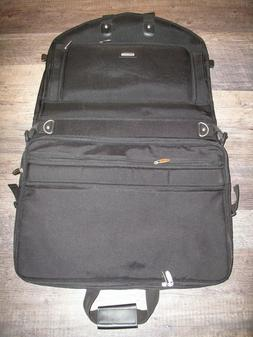 "Wally Bags Garment Luggage 52"" Black Tri-Fold Style 2020 Del"