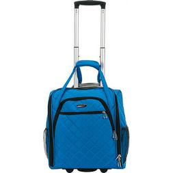 Rockland Luggage Wheeled Underseat Carry-On 8 Colors Softsid